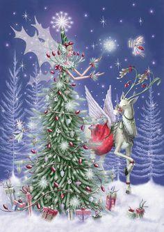 Arbre de Noël elfique