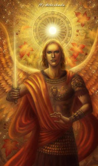 Archangel michael by mikioku