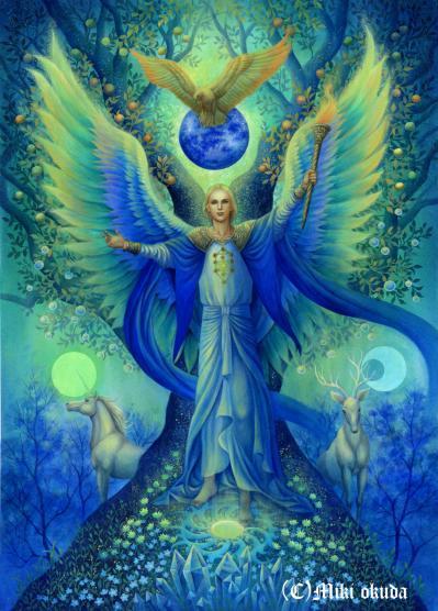 Archangel michael - mikioku -deviantart