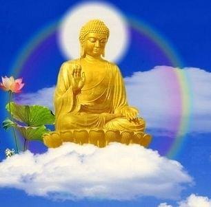 Bouddha nuage2