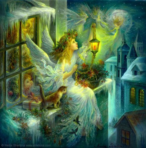Christmas wonder by fantasy fairy angel d4p1mhi