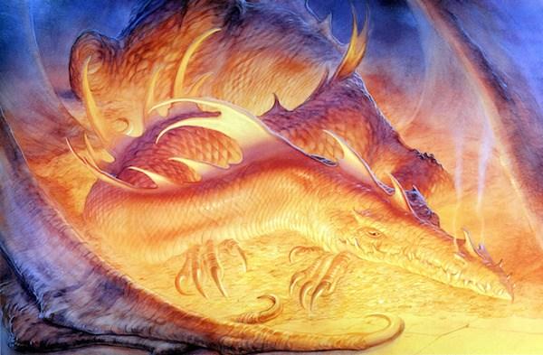 Dragon smaug john howe