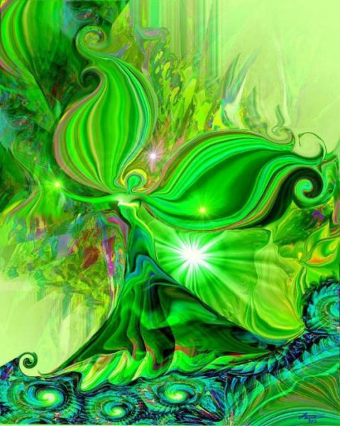 Lightworker's painting vert