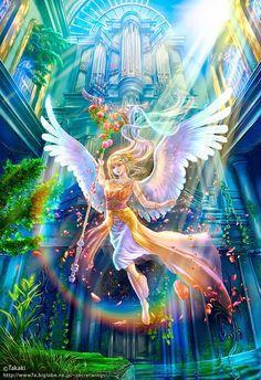 Shu ange arc-en-ciel