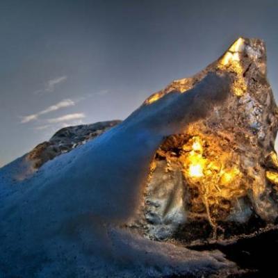ICEBERGS GLACIERS ISLANDE