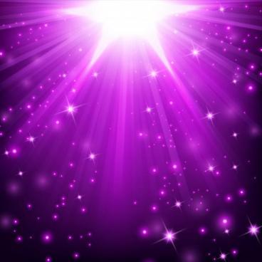 Effet lumiere violet illumine paillettes 48799 249