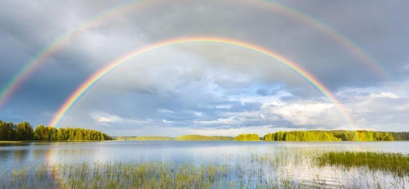 Iu arc en ciel 7 couleurs
