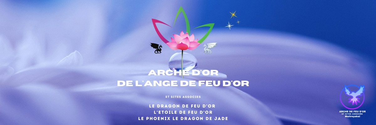 ARCHE D'OR DE L'ANGE DE FEU D'OR