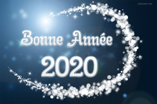 Messages bonne annee 2020
